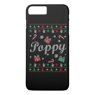 El navidad feo de la amapola funda iPhone 7 plus