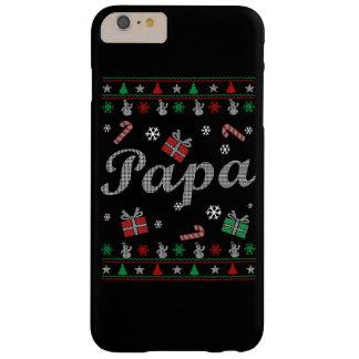 El navidad feo de la papá funda barely there iPhone 6 plus