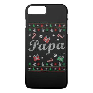 El navidad feo de la papá funda iPhone 7 plus