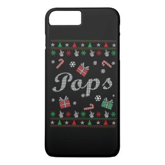 El navidad feo de los estallidos funda iPhone 7 plus