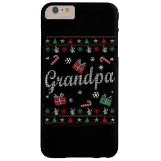 El navidad feo del abuelo funda barely there iPhone 6 plus