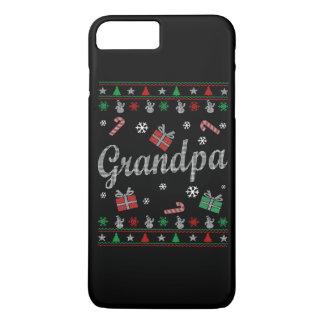 El navidad feo del abuelo funda iPhone 7 plus