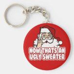 El navidad feo jura a Papá Noel Llaveros