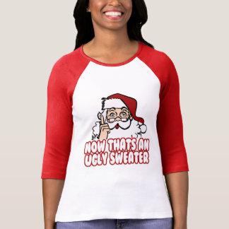 El navidad feo jura a Papá Noel Camiseta