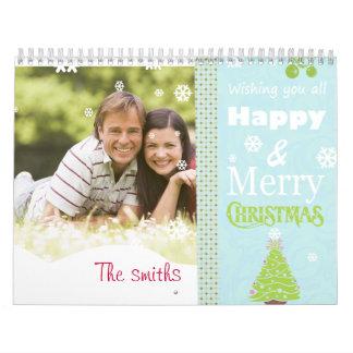 El navidad hace calendarios con la foto