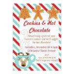 El navidad invita - chocolate caliente y las galle anuncio