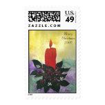 El navidad mira al trasluz por la edad 10 de sellos