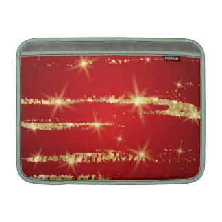el navidad modela, rojo, oro, extracto, Navidad, Funda Macbook Air