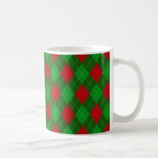 El navidad modeló la taza de café