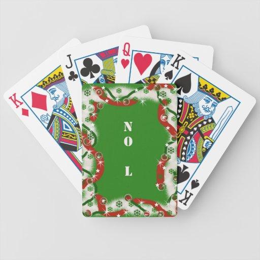 El navidad no humor   NINGÚN L Baraja Cartas De Poker