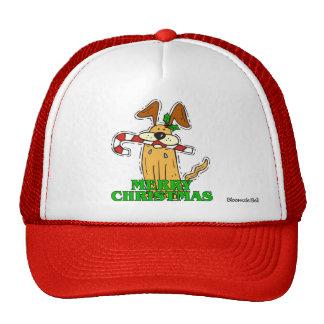 El navidad persiguen y el bastón de caramelo gorra