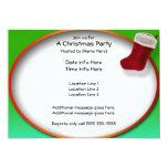 El navidad que almacena al fiesta invita invitación 12,7 x 17,8 cm