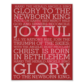 El navidad que las letras de la canción escuchan l posters