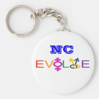 El NC se desarrolla Llavero Redondo Tipo Pin