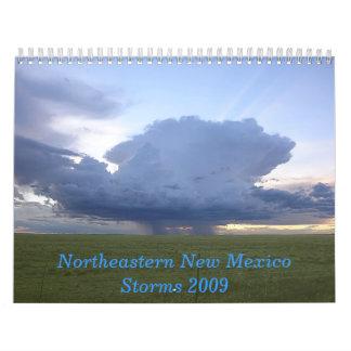 El NE New México asalta 2009 Calendario De Pared