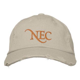 El NEC apenó el gorra bordado tipo de tela de algo Gorra Bordada
