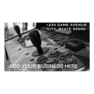 El negocio de un videojugador tarjetas de visita