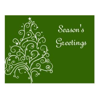 El negocio del árbol de navidad sazona la postal d