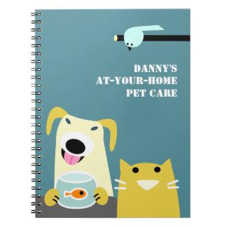 El negocio del canguro del mascota cuaderno