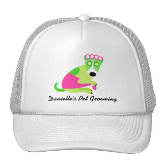 El negocio del Groomer del mascota Gorras De Camionero