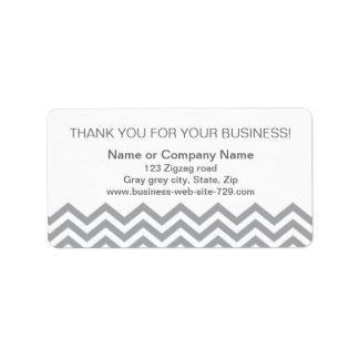 El negocio le agradece las etiquetas de dirección,