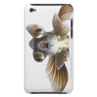 El negro amarra el goldfish (el auratus del Carass iPod Touch Case-Mate Funda