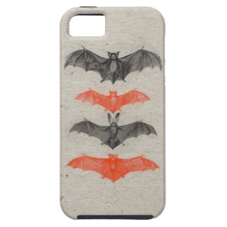El negro anaranjado de Halloween golpea el fiesta iPhone 5 Protector