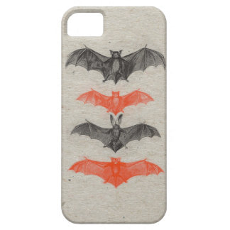 El negro anaranjado de Halloween golpea el fiesta iPhone 5 Funda