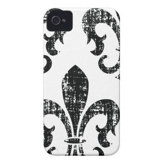 El negro apenó la caja elegante del iphone 4 de la Case-Mate iPhone 4 fundas