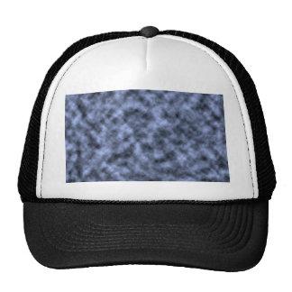 El negro azul del blanco gris abigarró diseño del  gorras
