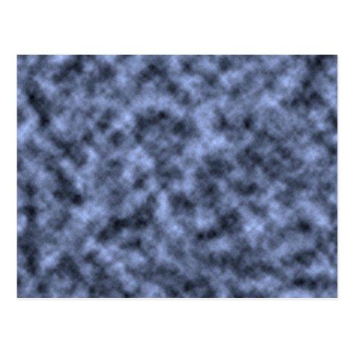 El negro azul del blanco gris abigarró diseño del postales