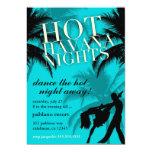 El negro caliente de 311 de La Habana aguamarina Invitacion Personal