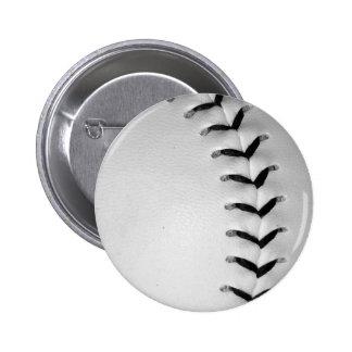 El negro cose béisbol/softball pin