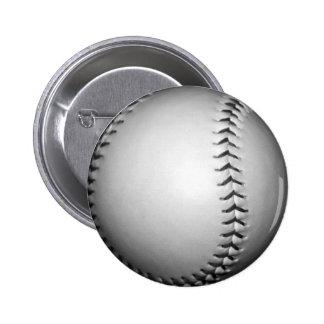 El negro cose softball/béisbol pins