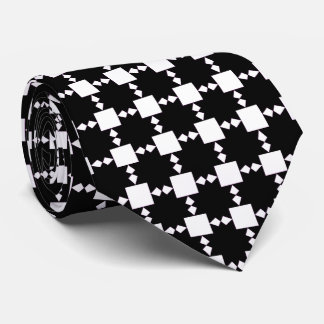 El negro en la estrella blanca tejó la corbata