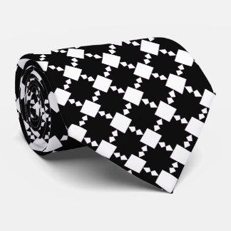 El negro en la estrella blanca tejó la corbata 2
