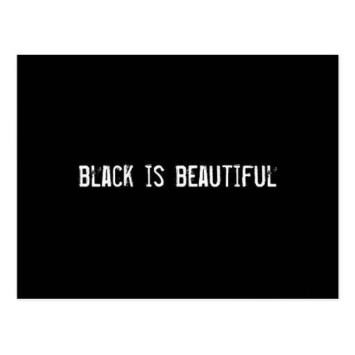 el negro es hermoso postales