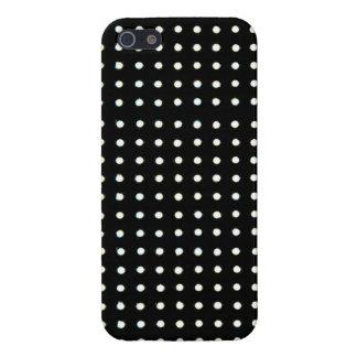 El negro llevó la luz iPhone 5 protectores