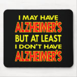 El negro puede tener Alzheimers Alfombrilla De Raton