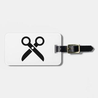 El negro Scissors el icono Etiquetas Bolsas