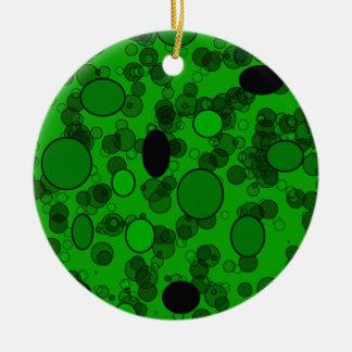 el negro verde circunda arte ornamentos de reyes