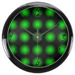El negro verde se descolora reloj beta del relojes aquavista