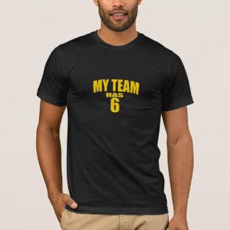 El negro y el oro mi equipo tiene camiseta 6