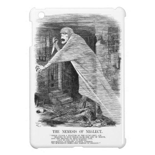 El Némesis de la negligencia - Jack the Ripper iPad Mini Carcasas