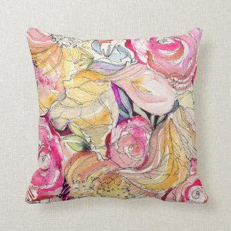 El neón florece almohada decorativa