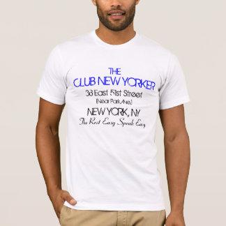 El neoyorquino del club habla el vintage fácil de playera