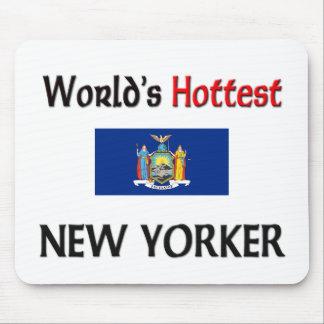 El neoyorquino más caliente del mundo alfombrilla de ratón