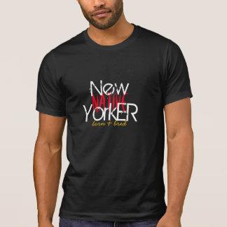 El neoyorquino nativo nacido y crió la camiseta