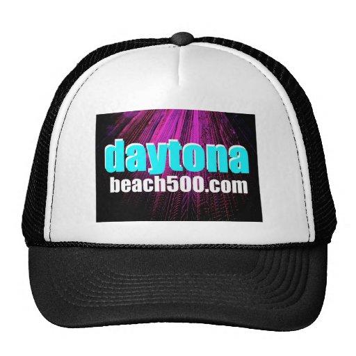 El neumático de Daytona Beach sigue arte Gorras De Camionero