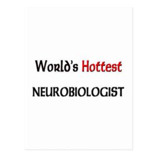 El neurobiólogo más caliente de los mundos postal